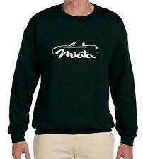 2009-15 Mazda Miata Sports Car Classic Outline Design Sweatshirt NEW