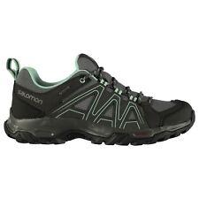 Chaussures et bottes de randonnée noirs Salomon pour femme