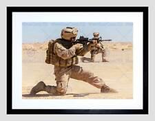 Guerra militar Ejército Soldado Pistola Rifle Marina de Guerra disparar Arena Lámina B12X4868