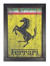 Ferrari Vintage Italien Voiture Poster Cheval vieux logo photo Sports véhicule Imprimer