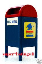Dept. 56 Mailbox U.S. Mail Blue Snow Village 51799 USPS Free Shipping