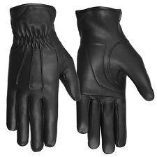 Hugger Ladies Driving Gloves Deerskin Leather Full Finger Motorbike Riding USA