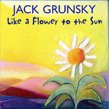 FREE US SHIP. on ANY 2+ CDs! NEW CD Jack Grunsky: Like a Flower to the Sun