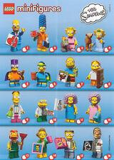 LEGO i Simpsons 2 MINIFIGURES-Series scegliere un mini personaggio 71009 Set Bartman