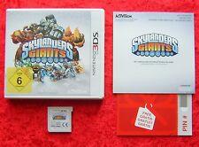 Skylanders Giants Nintendo 3DS, Skylander 3D Spiel ohne Figuren, Neu OVP