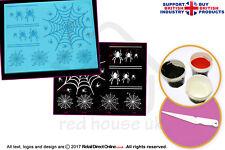 Edible Cake Lace Starter Kit | 3D HD Spider Cobweb Cake Lace Mat
