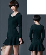 Vestito Mini Autunno Donna - Woman Autumn Mini Dress 110136-N