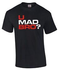 T-SHIRT | ergonometriche | troll | U Mad Bro? | problema? | Nerd | culto Rage funshirt