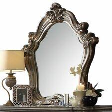 Acme Versailles Mirror in Antique Platinum