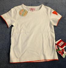 T-Shirt von Sigikid, natur mit Stickerei am Ärmel, Kurzarm. NEU!