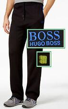 NWT Hugo Boss Green by Hugo Boss Track Pants in Black 2 Regular & 2 Back Pockets