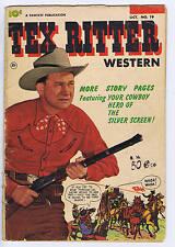 Tex Ritter Western #19 Fawcett 1953