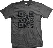 QR Code Funny Humor Meme Internet Joke Mens T-shirt