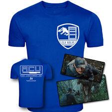 Jurassic World Inspired ACU Ingen Security Two Sided TShirt Original Screenprint