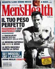 Men's Health-'02-Enrico Mentana,Raoul Bova,Jack Nicholson,Giancarlo Vissani,n.24
