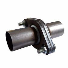 Universal Exhaust BRIDA CONECTOR acero inox o acero templado con junta