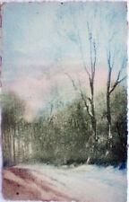 1918 Paesaggio con alberi e neve Great Britain