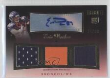 2010 Topps Tribute #ATR-ED Eric Decker Denver Broncos Auto Rookie Football Card