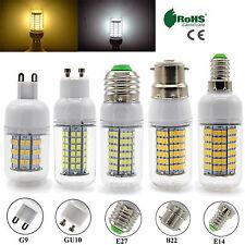 Dimmable B22 BC E27 ES E14 GU10 G9 LED Corn Bulbs SMD Day Warm White Light Lamp