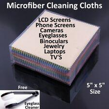 Microfiber Cleaning Cloth Laptop Camera Lens Eyeglasses TV Phone LCD Screen Lot
