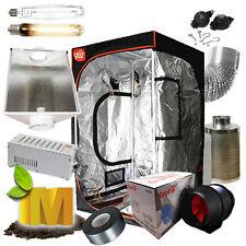 "Hydroponics Setup Magnetic Ballast Grow Tent 6"" Ventilation Fan Grow Light Kit"