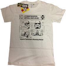 STAR Wars Haynes Stormtrooper IMPERIALE EMISSIONE UFFICIALE T-shirt da uomo 22b