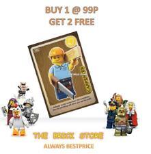 LEGO - #005- CARPENTER - CREATE THE WORLD TRADING CARD - BESTPRICE  + GIFT - NEW