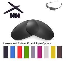 Walleva Lenses and Rubber Kit for Oakley Juliet - Multiple Options