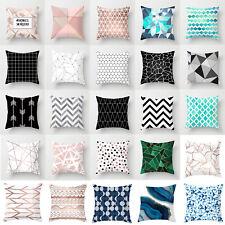 Geometrisch 45x45 Kissenbezug Kissenhülle Dekokissen Kissen Hüllen Sofa Dekor