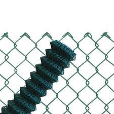 Maschendrahtzaun grün 60x2,8 Viereckgeflecht Maschinengeflecht Zaun Maschendraht
