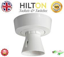 HILTON Lampholder Ceiling Batten Holder T2 Pre Wired BC ***Best Quality***
