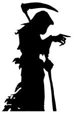 Grim Reaper Muerte Morir el Grim Reaper Sticker Decal Gráfico Etiqueta De Vinilo