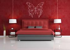 Diseño Geométrico Mariposa Pared Arte Citar Pegatina/Calcomanía-Dormitorio/Sala