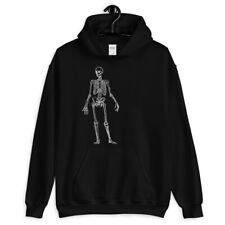 Skeleton Hoodie - Hoody Men S-3XL - Scary Spooky Skull Goth Heavy Metal Hipster