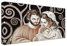 Quadro moderno Sacra Famiglia B Capezzale Arredamento Arte Casa Stampa su tela