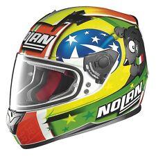 Nolan N64 Gemini Melandri Misano Replica Full Face Motorcycle Helmet -Size XS