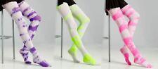 Tie Dye 60s Hippie Retro 70s Adult Sized Stockings Costume Accessory