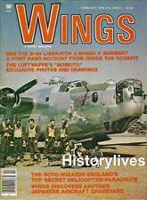 Wings MagazineV8 N1 B-24 Liberator Bomber Luftwaffe Moskito Gyro Rotabuggy