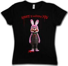 ROBBIE THE EVIL RABBIT GIRLIE SHIRT Silent Hill Resident Movie Game Evil Girl