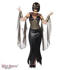 LADIES BASTET THE CAT GODDESS COSTUME ADULT HALLOWEEN FANCY DRESS