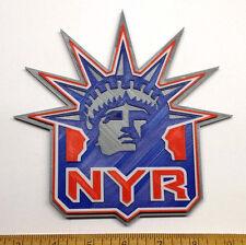 """New York Rangers """"Liberty"""" 3D Hockey Logo - Emblem, Ornament or Magnet !!"""