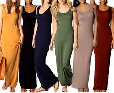Maxikleid Shirtkleid lang Sommerkleid Strand Maxi Kleid Damen Frauen XS S M NEU