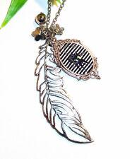 Kette +++ Motiv Auswahl +++ lange Halskette mit Anhänger ++ Katze Kater Cabochon