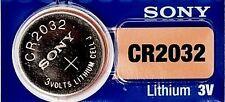 Pile Bouton 3V SONY CR2032 LITHIUM - DL2032 BR2032 KL2032 L2032 ECR2032 CR2032H