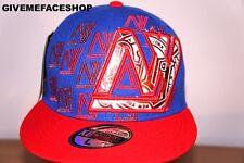 FLASH NY FLAT PEAK CAP, BLING FITTED HAT, HIP HOP ROYAL