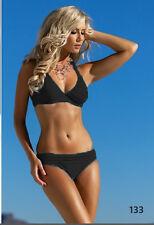 Neckholder Softcup Bikini Self Gr.36-40Cups C-E (115 M,MW) in Schwarz,Blau Neu