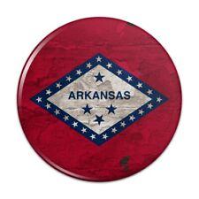 Rustic Arkansas State Flag Distressed USA Pinback Button Pin Badge