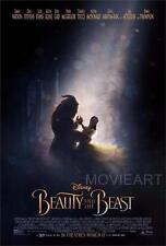 La Bella Y La Bestia 2017 remake película de Disney Póster Película A4 A3 Art Print Cine