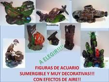 MODELOS FIGURA decorativa adorno sumergible decoracion pecera acuario NO TOXICA