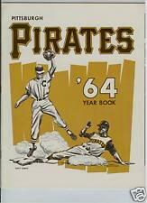 1964 PITTSBURGH PIRATES YEARBOOK